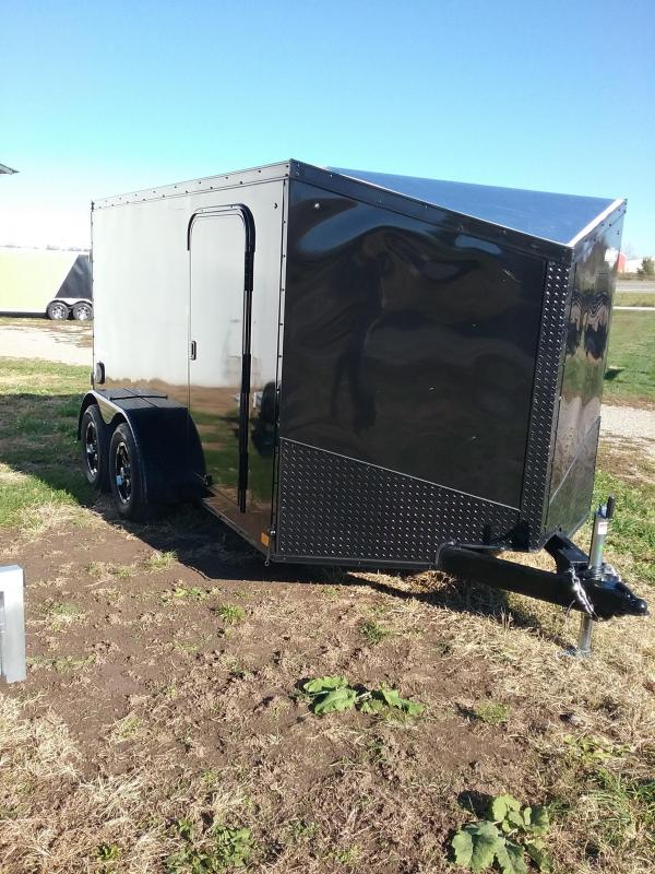 "2019 Impact Trailers SHOCKWAVE 6"" Extra Height Enclosed Cargo Trailer"