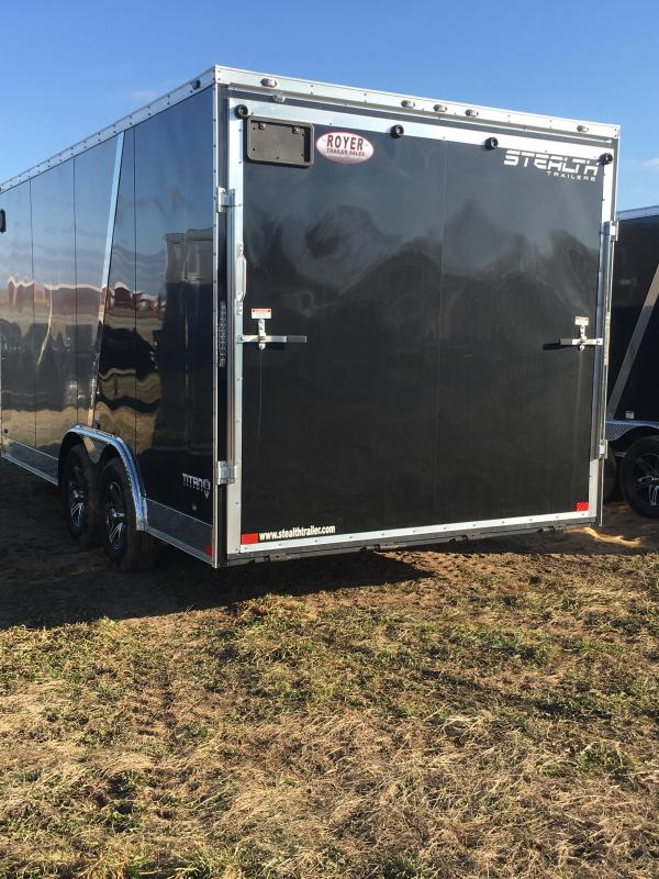 "2019 Stealth Trailers 8.5x16 Titan 6"" Additional Height Enclosed Cargo Trailer"