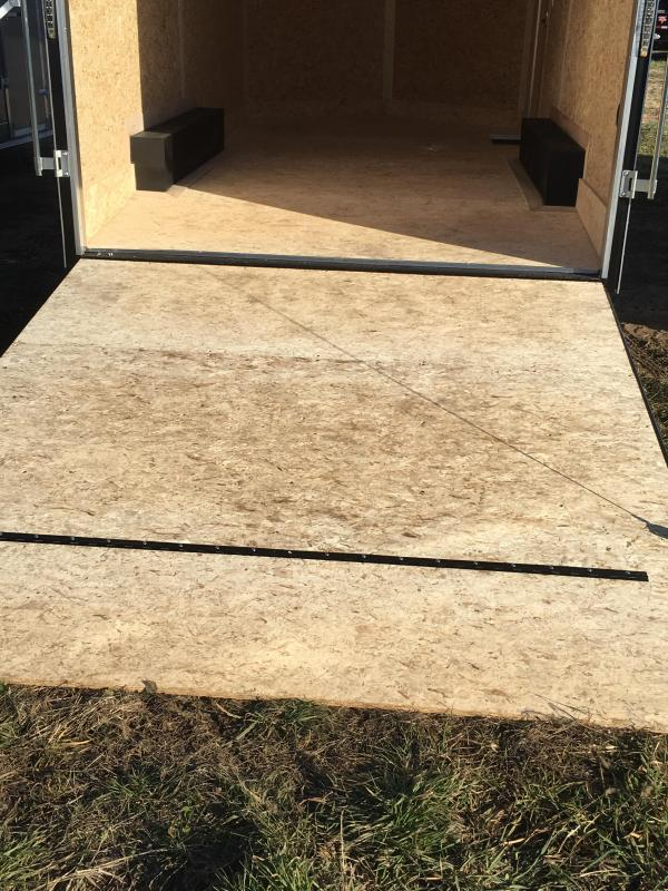 """2019 Stealth Trailers 8.5x16 Titan 6"""" Additional Height Enclosed Cargo Trailer"""