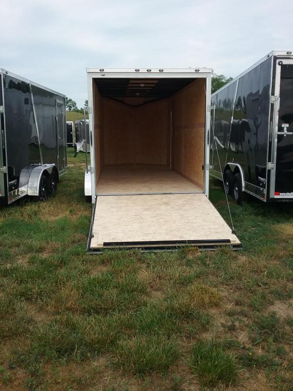 7X16 Plus 12 Inches Stealth Titan Enclosed Cargo Trailer