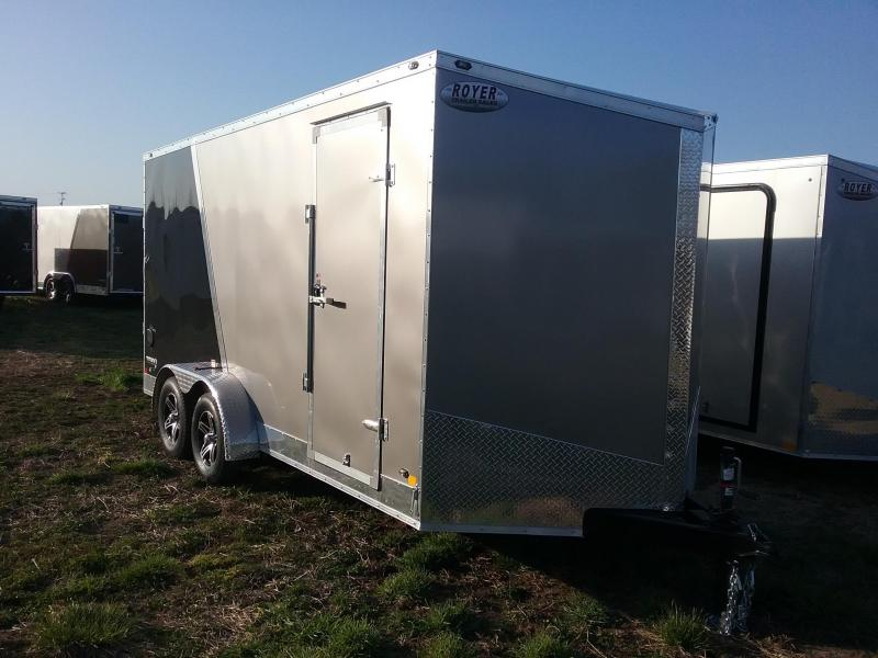 "Stealth 7X16 (+12"" Extra Interior Height) Stealth Titan Enclosed Trailer"