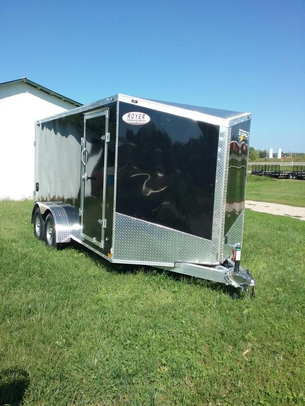 2019 Stealth Trailers Titan 7x14 Enclosed Cargo Trailer
