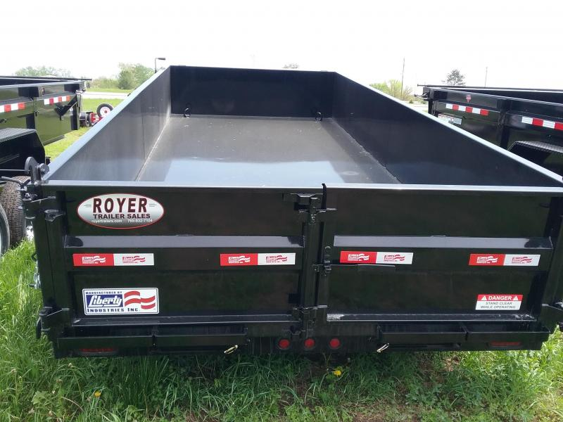 "Liberty Dump Trailer with Tarp 83""x16'"