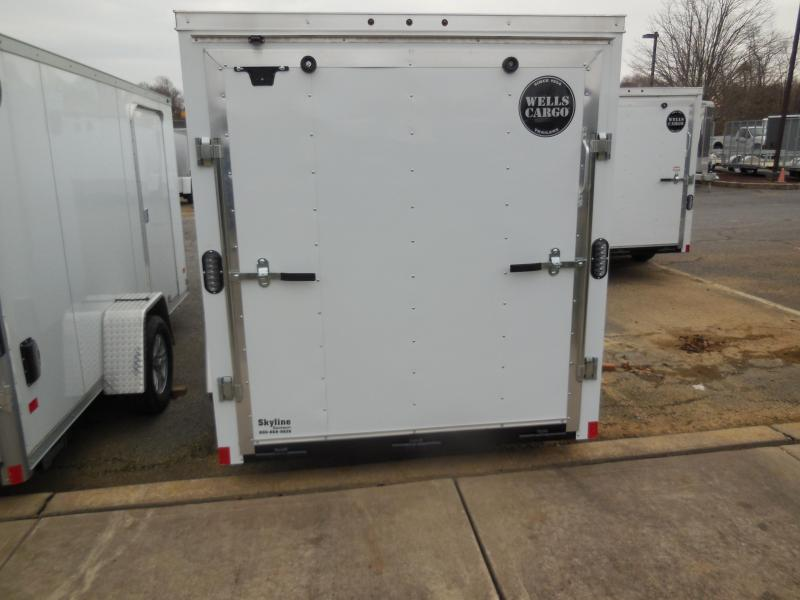 2019 Wells Cargo FT6121 Enclosed Cargo Trailer