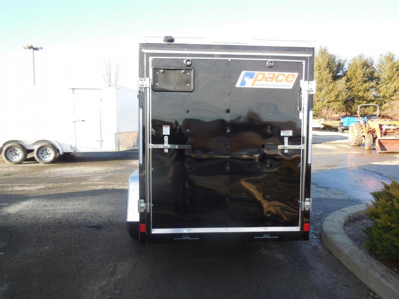 2019 Pace American OB5X10SI2DLX Enclosed Cargo Trailer