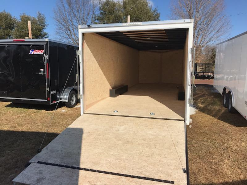 2019 Pace American OB85X24TE3DLX Enclosed Cargo Trailer