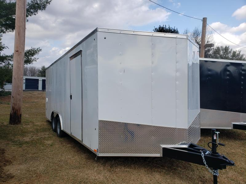 2019 Pace American OB85X20TE2DLX Enclosed Cargo Trailer
