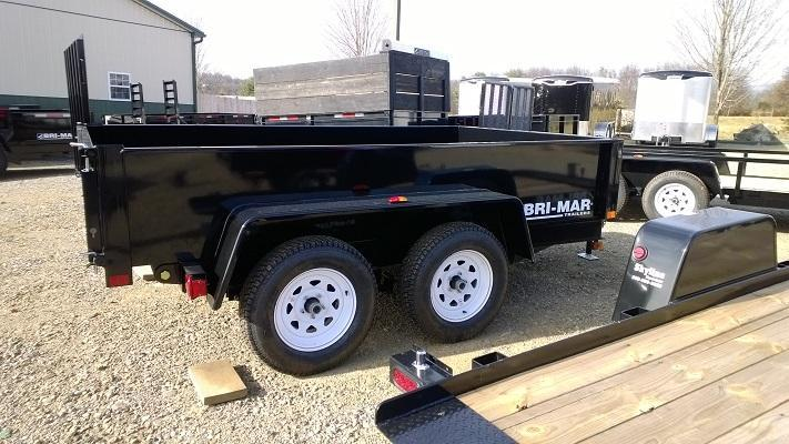 2020 Bri-Mar DTR610LP-7 Dump Trailer