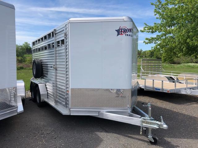 2019 Frontier Livestock 167 Horse Trailer