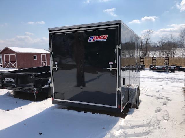 2020 Pace American OB7X12SE2DLX Enclosed Cargo Trailer