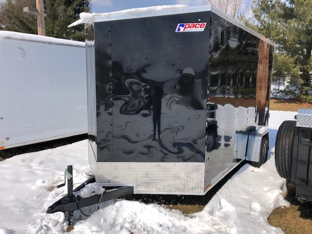 2020 Pace American OB7X12SE2DLX Enclosed Cargo Trailer