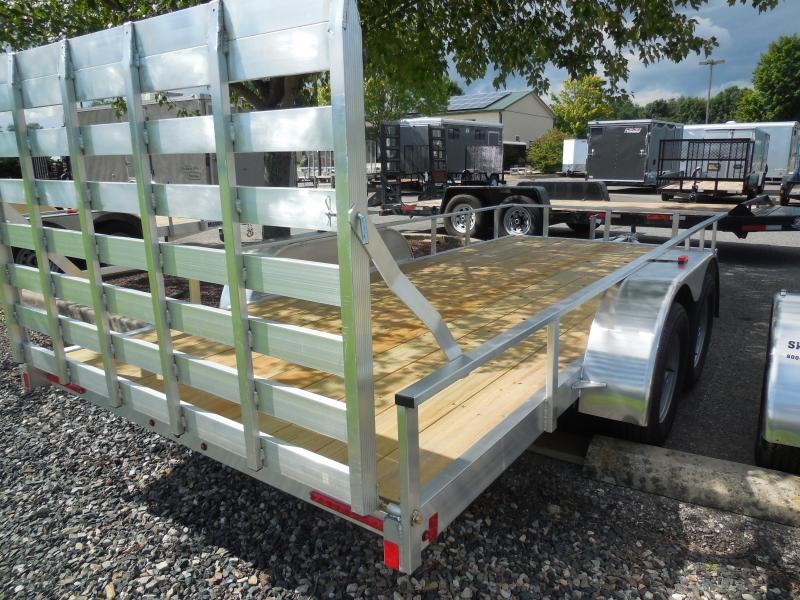 2020 Mission MLS6.5X16 Utility Trailer