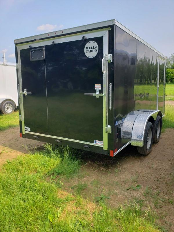 2019 Wells Cargo RF714T2 Enclosed Cargo Trailer