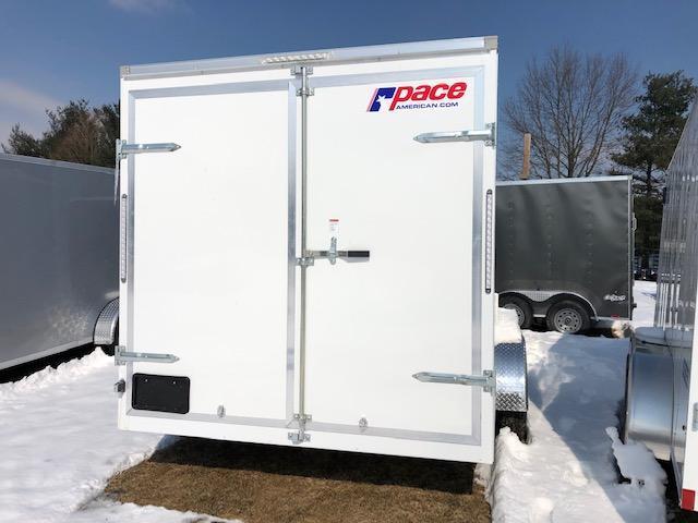 2020 Pace American OB7X16TE2DLX Enclosed Cargo Trailer
