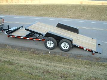 2019 Bri-Mar HT20D-14HD Flatbed Trailer