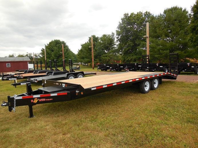 2019 B-Wise EDB24-15 Equipment Trailer