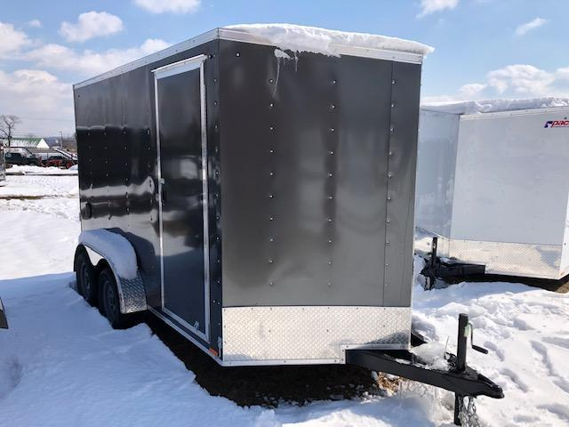 2020 Pace American OB7X12TE2DLX Enclosed Cargo Trailer