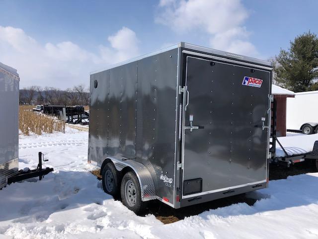 2020 Pace American OB7X12TE2DLX Enclosed Cargo Trailer