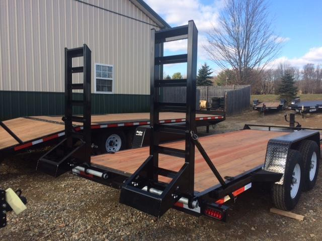 2019 Bri-Mar EH18-14HD Equipment Trailer