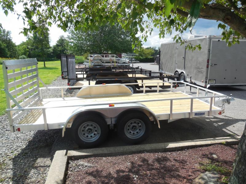 2018 Mission MLS6.5X142.0 Utility Trailer