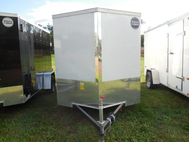 2018 Wells Cargo HMVG612S Enclosed Cargo Trailer