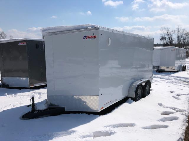 2020 Pace American OB7X14TE2DLX Enclosed Cargo Trailer