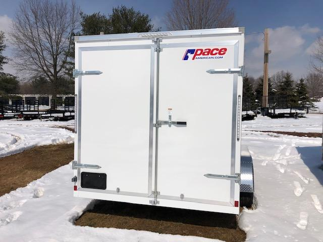 2020 Pace American OB7X14TE2DLX Enclosed Cargo Trailer