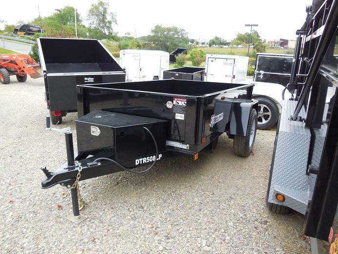 2019 Bri-Mar DTR508LP-5 Dump Trailer