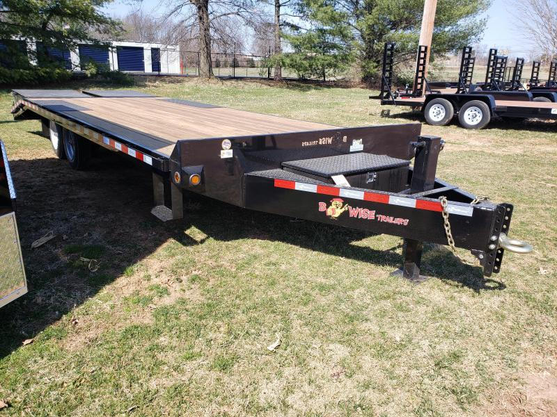 2019 B-Wise EDB24-17 Equipment Trailer