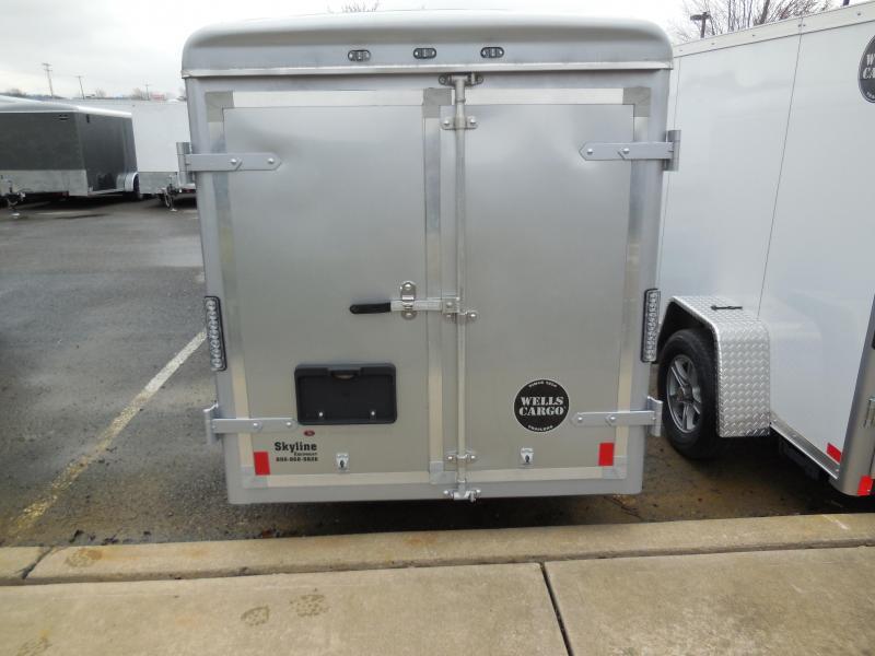 2018 Wells Cargo SW10 Enclosed Cargo Trailer