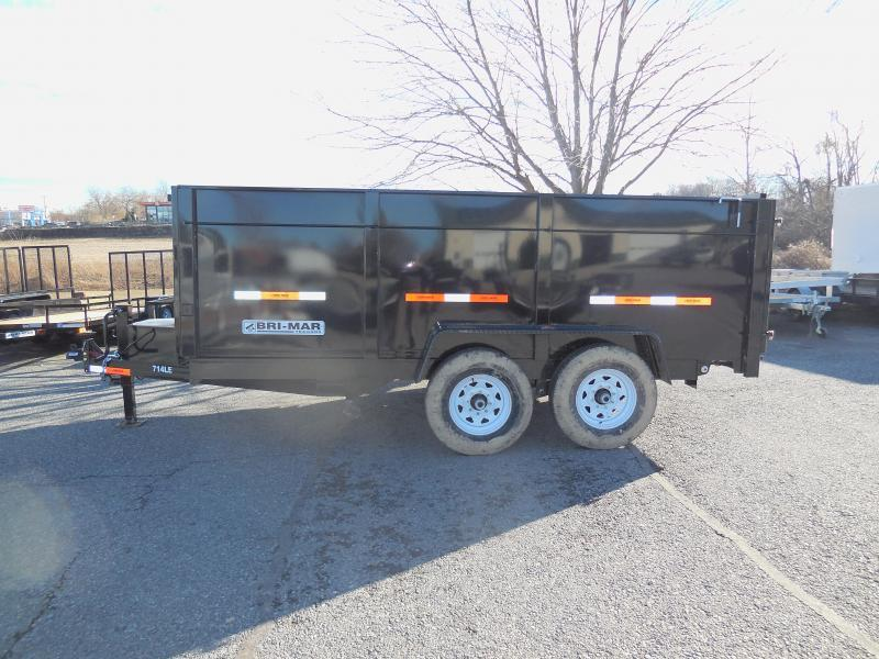2020 Bri-Mar DT714LP-LE-14H Dump Trailer