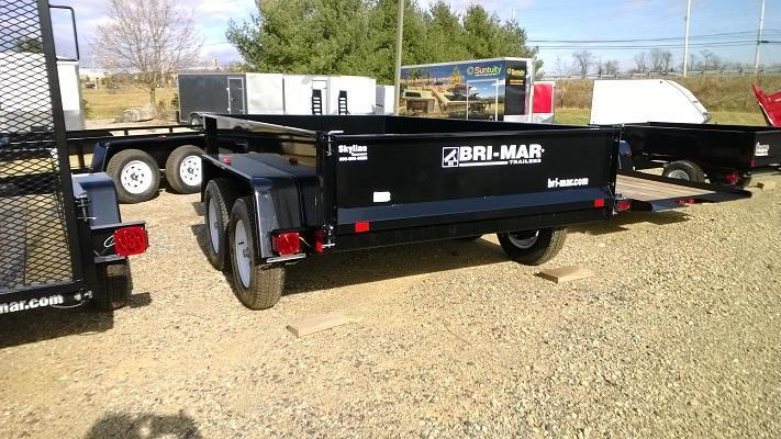 2020 Bri-Mar DTR610LP-10 Dump Trailer