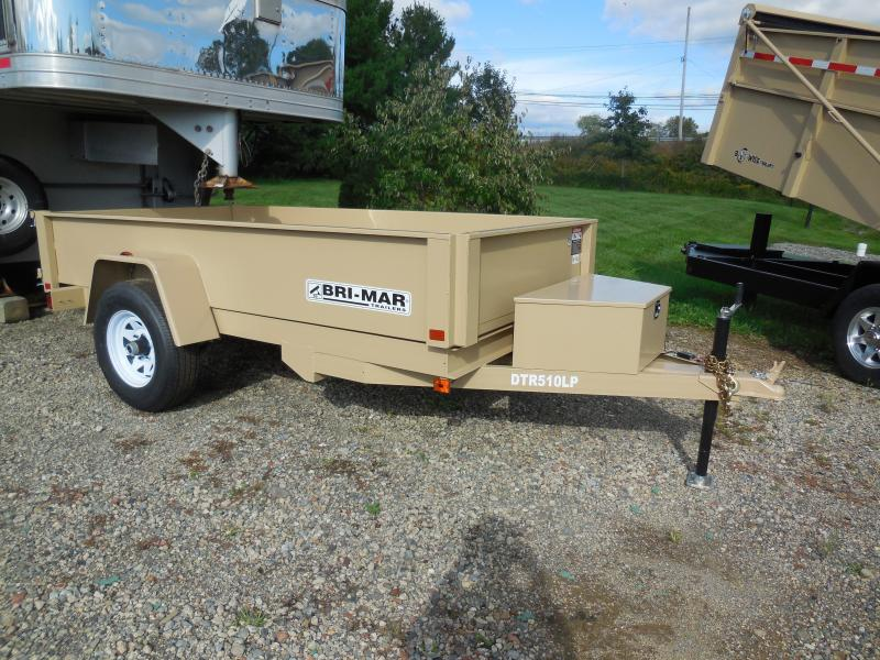 2019 Bri-Mar DTR510LP-5 Dump Trailer