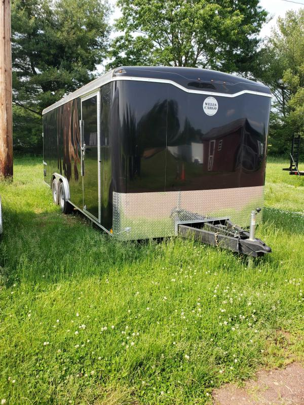 2019 Wells Cargo RF8520T3 Enclosed Cargo Trailer