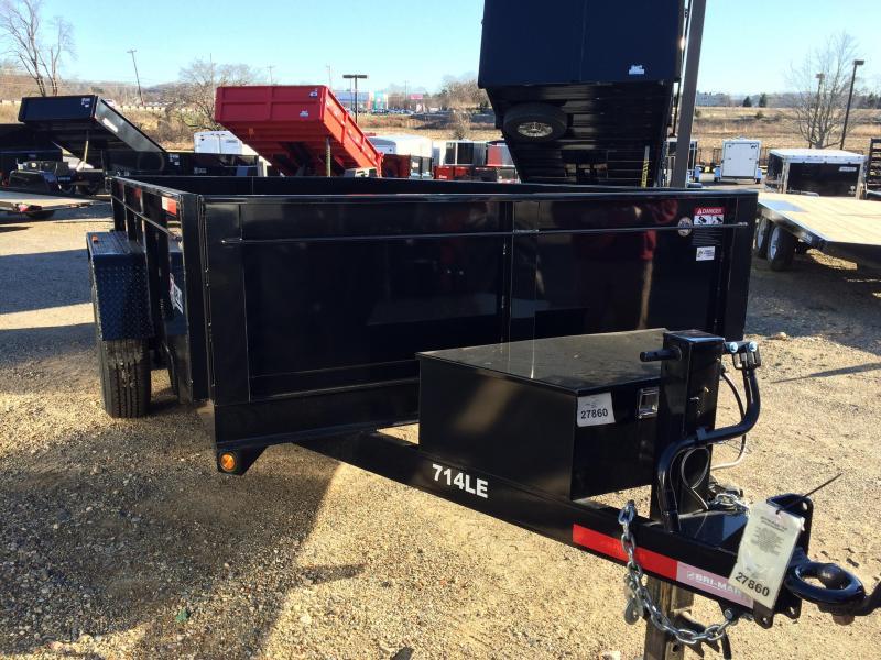 2019 Bri-Mar DT714LP-LE-14 Dump Trailer