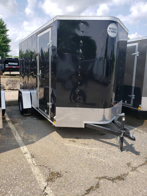2019 Wells Cargo FT612S2-D Enclosed Cargo Trailer