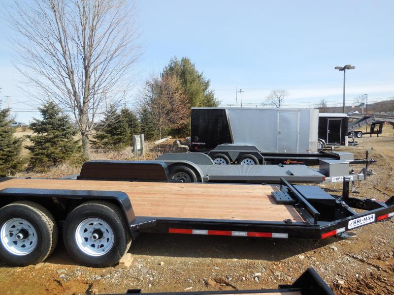 2018 Bri-Mar HT18-14 Equipment Trailer