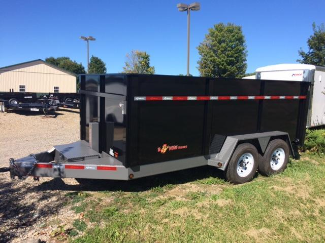 2019 B-Wise DLP16-15 Dump Trailer