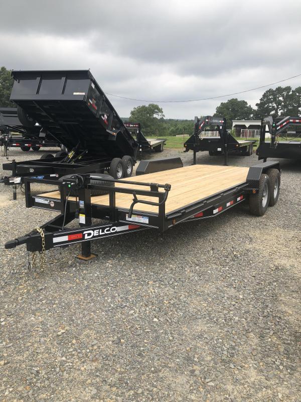 2019 Delco Trailers 20x83 Equipment Hauler Equipment Trailer