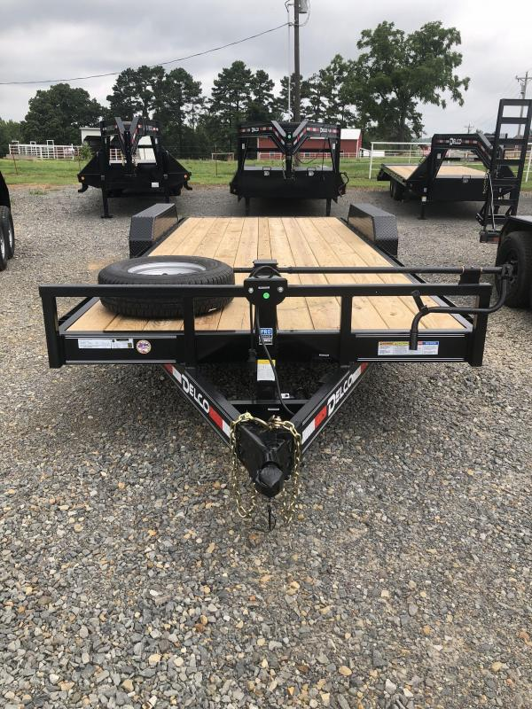 2019 Delco Trailers 20x83 Equipment Hauler Equipment Trailer in Ash Flat, AR