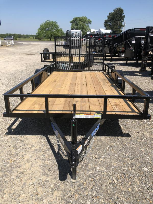 2019 Top Hat Trailers 14x77 BP Utility Trailer