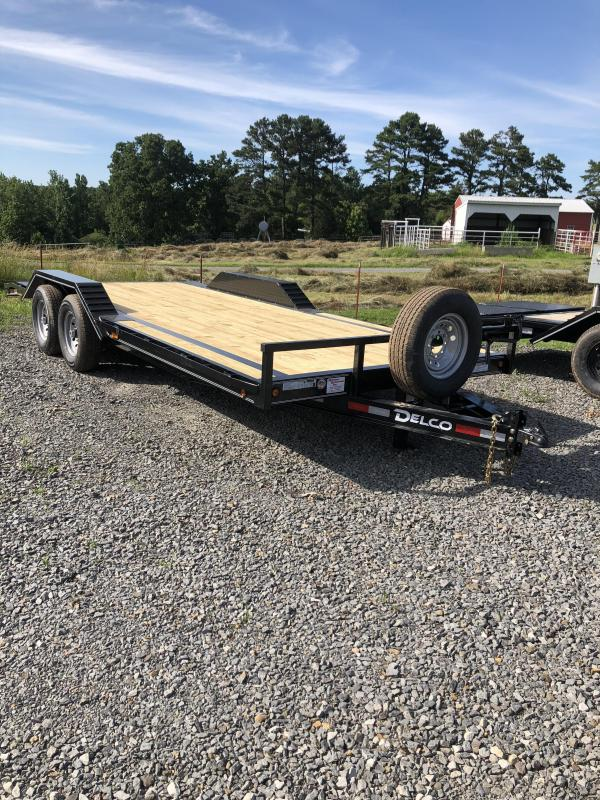 2019 Delco Trailers 20x102 Equipment Hauler