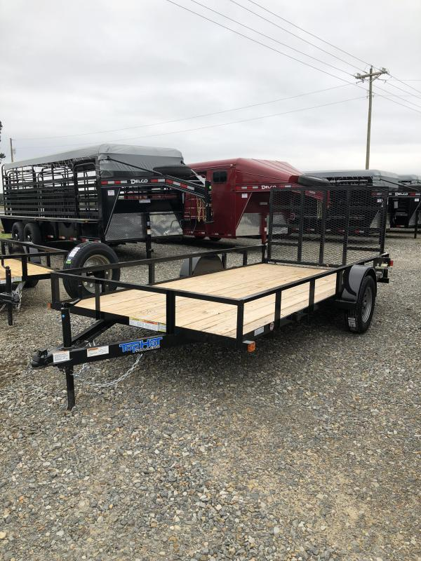 2019 Top Hat Trailers 10x77 BP Utility Trailer