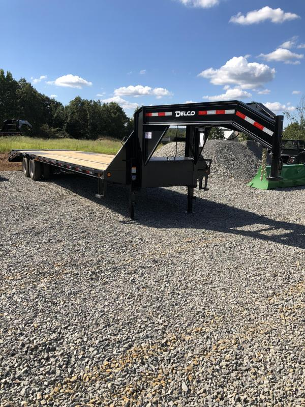 2019 Delco Trailers 27ft plus 5ft Flatbed Trailer