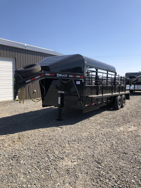 2019 Delco Trailers 20x6.8 Premium Catch Livestock Trailer in Ashburn, VA