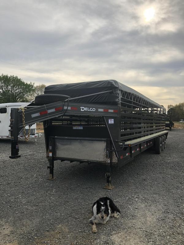 2019 Delco Trailers 32x6.8 Stock Trailer in Ashburn, VA