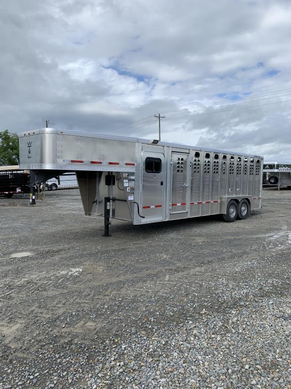 2020 Wilson Trailer Company 7'x24' Roper Livestock Trailer