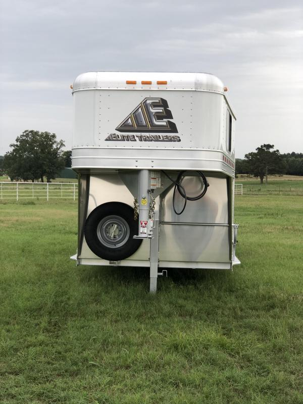 2019 Elite Trailers 7x20 Stock Combo Livestock Trailer
