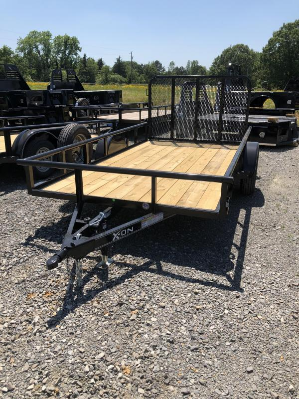 2019 X-On 12x77 BP Utility Utility Trailer