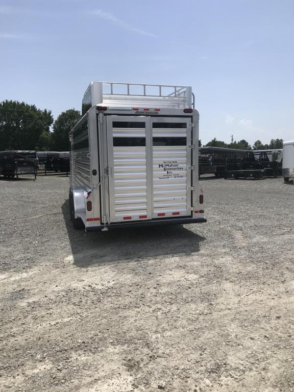 2020 Elite Trailers 7x21 Stock Combo Livestock Trailer